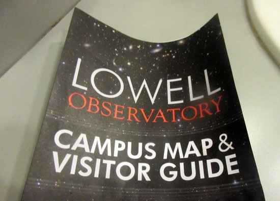 Campus Map Visitir Guide Lowell Observatory Flagstaff AZ - Map us observatory flagstaff
