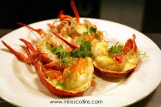 bamboo shoot restaurant fresh lobster with garlic lemon butter