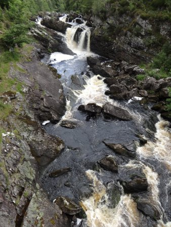 Contin, UK: The Falls of Rogie