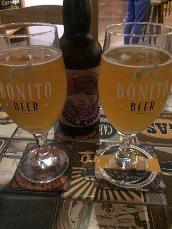 Bonito Beer: brinde