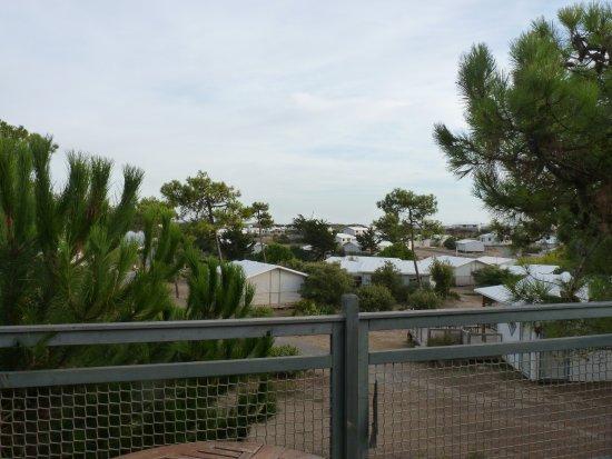 Barbatre, Francia: vue de la terrasse