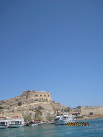 Elounda, Grèce : spinalonga