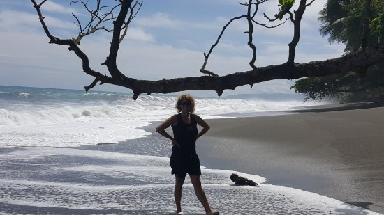 Osa Peninsula, Costa Rica: No footsteps but ours