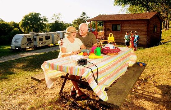 Finger Lakes, NY: Cheerful Valley Campground - Phelps, NY