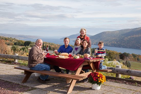 Finger Lakes, NY: Family Picnic - County Road 12, Naples, NY
