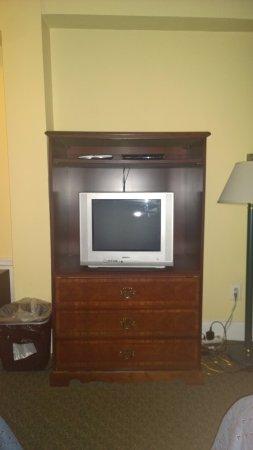 Windsor Park Hotel: Il mobile TV