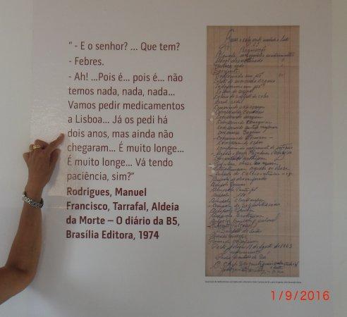 Konzentrationslager Colonia Penal de Tarrafal: relato de uma consulta do medico na altura....