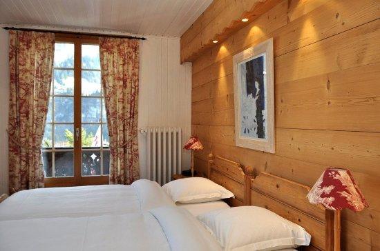 Art.Boutique.Hotel Beau-Sejour: Double room Twin