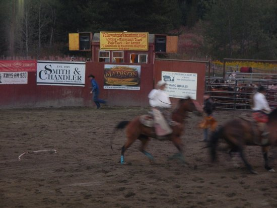 The Historic Madison Hotel: Rodeo in West Yellowstone