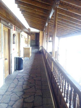 Vilaflor, สเปน: pasillo de acceso a los dormitorios