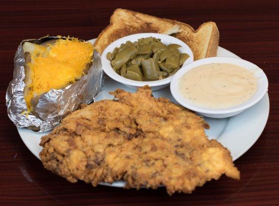 Gainesville, TX: Chicken Fried Steak