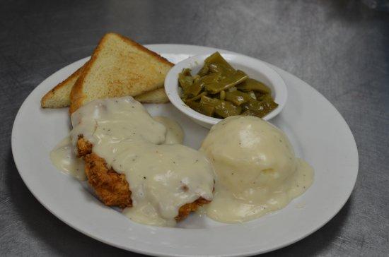 Gainesville, TX: Chicken Fried Chicken
