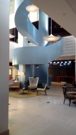 Lund, Sverige: Vue partielle du hall d'accueil