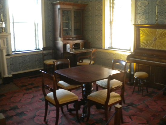 Ambridge, Pensilvania: Beautiful interiors and authenic furnishings