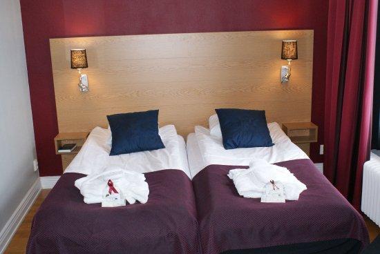 Arvika, السويد: Hotel Room