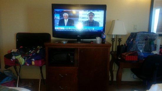 Dryden, Canada : New flat screen tv
