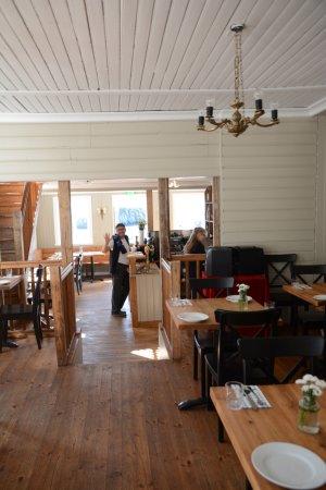 Borgarnes, Islandia: Interieur