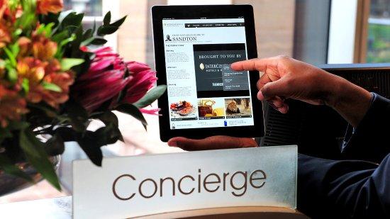 เคมพ์ตันพาร์ก, แอฟริกาใต้: Concierge