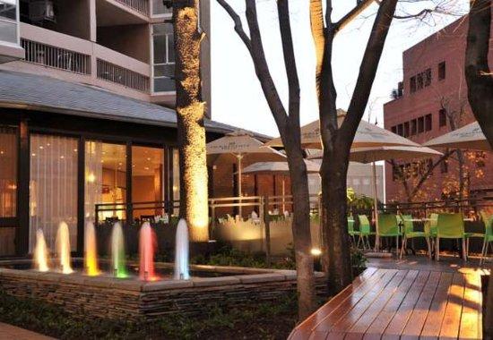 Braamfontein, Sydafrika: Restaurant Exterior