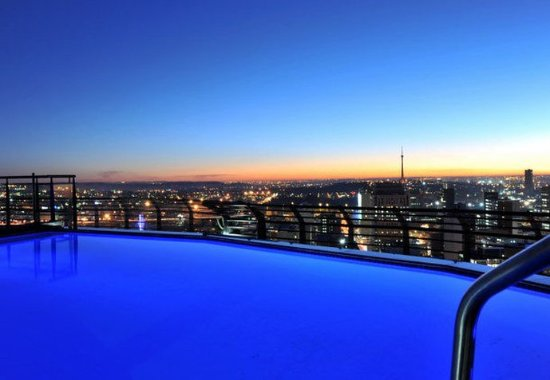 Braamfontein, Sydafrika: Outdoor Pool