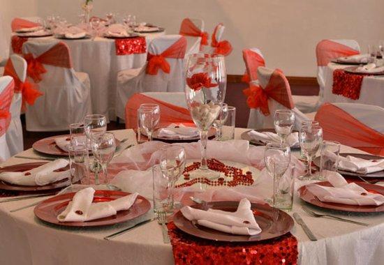 Klerksdorp, Sør-Afrika: Banquet Setup