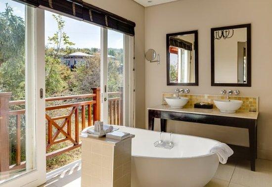 Magaliesburg, แอฟริกาใต้: Villa Bathroom