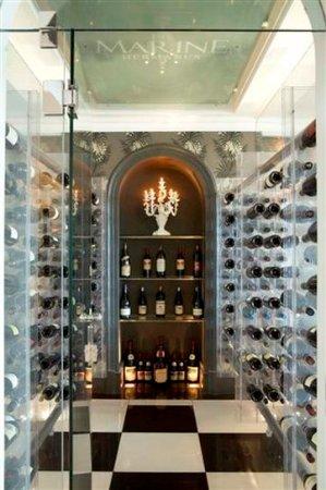 The Marine Hermanus: The Pavilion Restaurant Wine Cellar