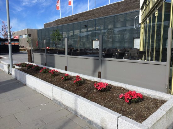 Bryne, Norge: Uteservering