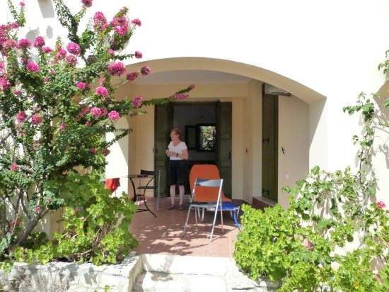 Gavalochori, اليونان: Private terrace