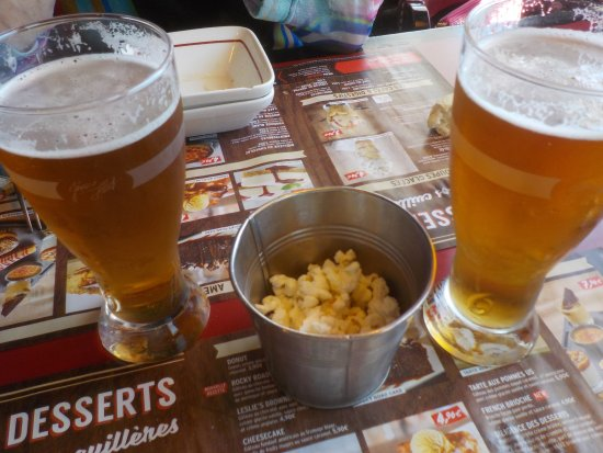 Ollioules, Francia: Bière pression.