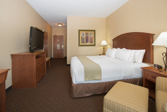 Holiday Inn Express Hotel & Suites Mitchell: King Bed Guest Room