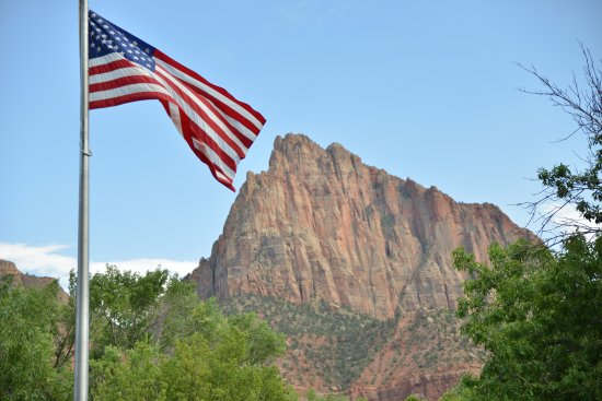 Watchman Campground: watcman at zion