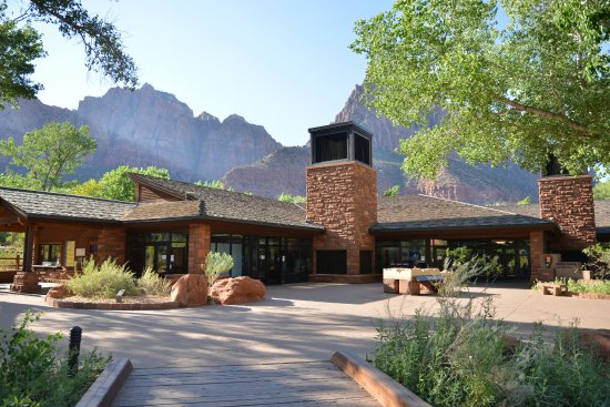 Watchman Campground: visitor center