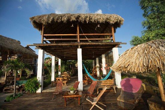 Puerto Sandino, นิการากัว: Deck & Restaurant