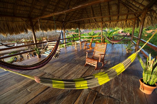 Puerto Sandino, Nicaragua: Chill out Area