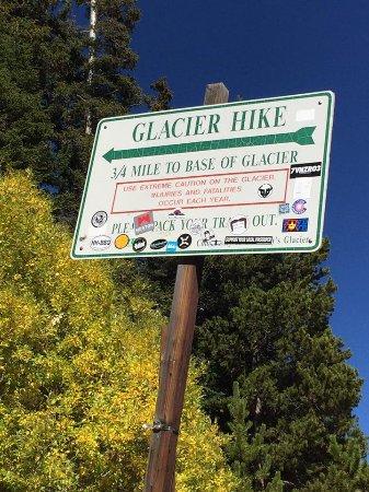 Idaho Springs, Colorado: Trail marker