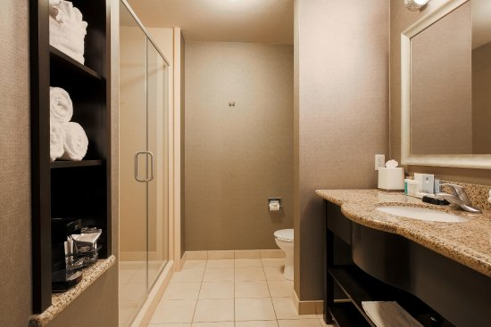 Poway, كاليفورنيا: King Bed Bathroom