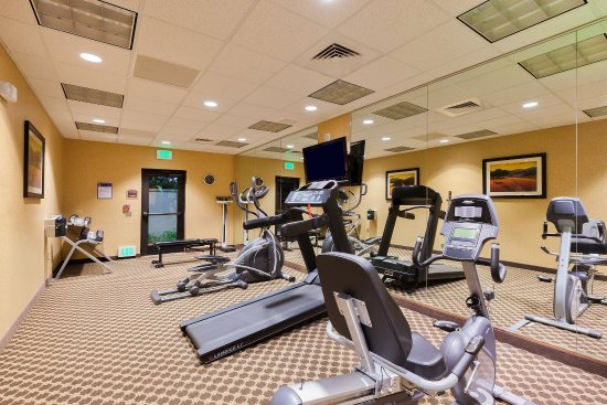 Atascadero, كاليفورنيا: Work out in our well-equipped Fitness Center