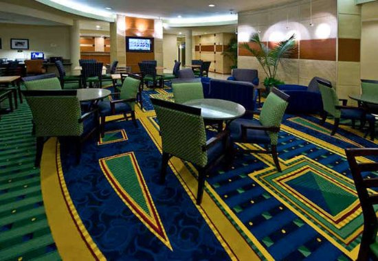 SpringHill Suites Columbus: Lobby Lounge Area