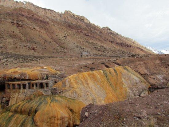 Las Cuevas, Arjantin: Puente del Inca