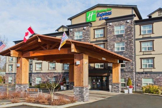 Courtenay, Canadá: Hotel Exterior