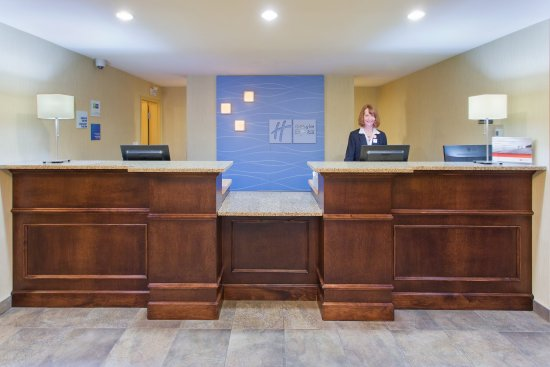 Courtenay, Canadá: Front Desk