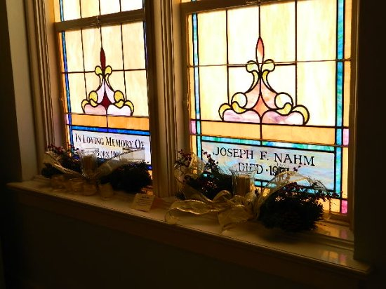 DeLand, FL: Our beautiful memorial windows add to the inner peace and beauty of our Sanctuary.