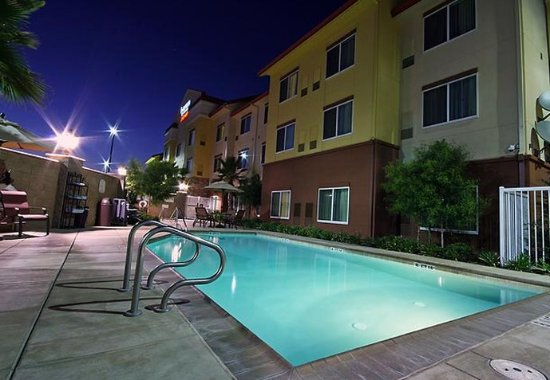 Turlock, Californië: Outdoor Pool