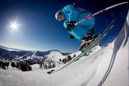 Olympic Valley, Kalifornien: Resort at Squaw Creek has ski-in/ski-out access to Squaw Valley