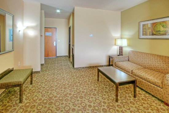Holiday Inn Express Hotel & Suites Pecos: Suite