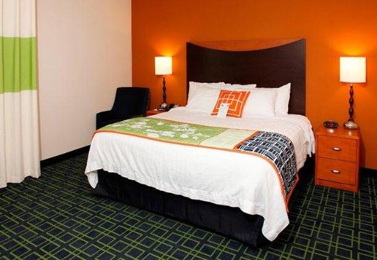 Fairfield Inn & Suites Rockford: King Guest Room