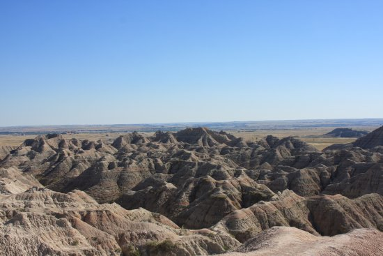 Interior, Dakota do Sul: The Badlands