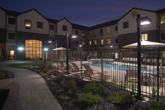 Independence, MO: Relax at Our Outdoor Heated Salt Water Pool and Spa