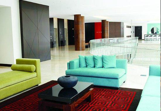 Bogota Marriott Hotel: Mezzanine Lounge